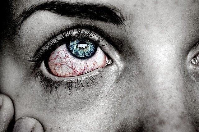 senność pieczenie oczu zmęczenie